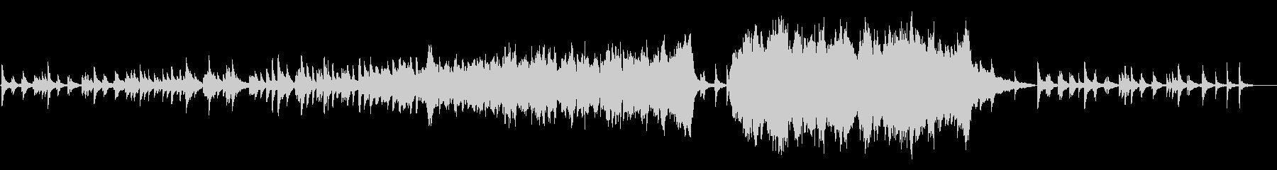 感動的なオーケストラ/卒業式/泣ける曲の未再生の波形