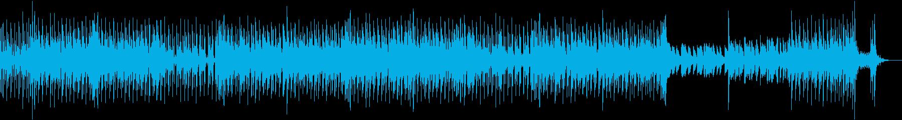 ラテンフレーバーインスト。さわやか...の再生済みの波形