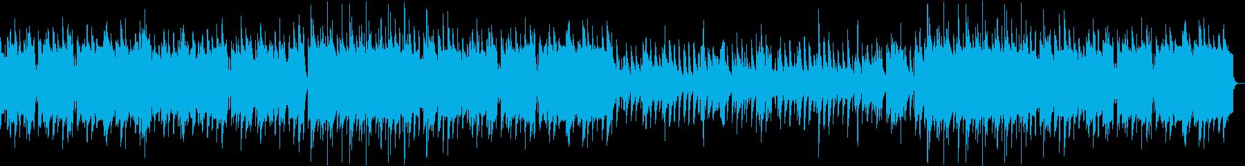 ほのぼのしたオーボエのバラードの再生済みの波形