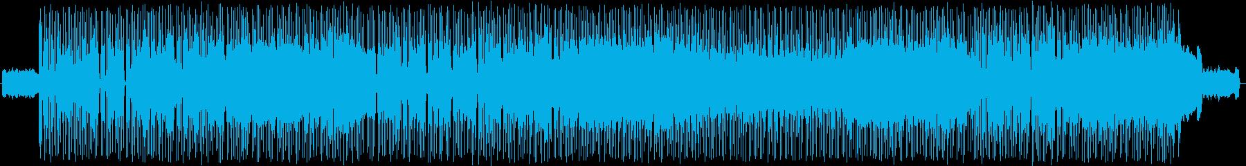 これぞ!ロックって雰囲気のロックの再生済みの波形