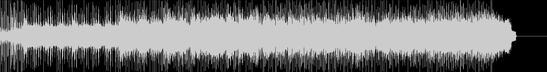 グラマラスなドラムと流れるギターソロの未再生の波形