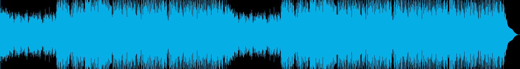 【EDM】力強いエネルギッシュなナンバーの再生済みの波形