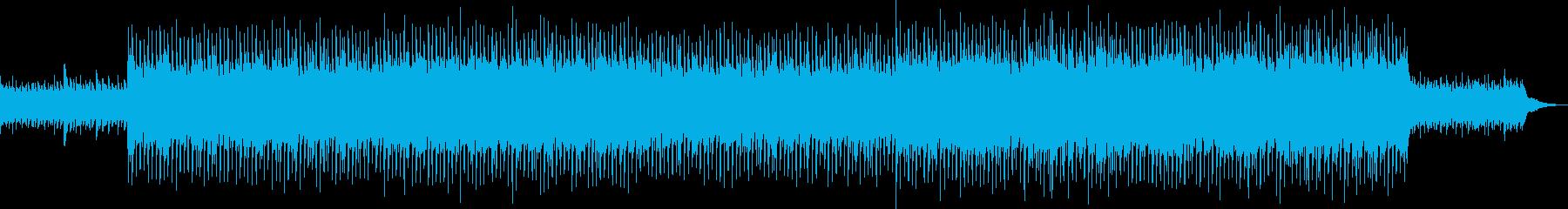 企業VP・爽やかアコースティックギターの再生済みの波形