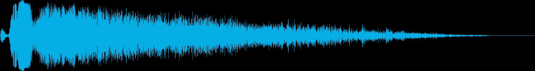 ビュオン( レーザービーム )の再生済みの波形