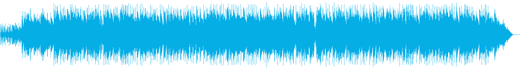 Slow country-style guitar songs's reproduced waveform