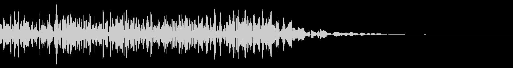 ファミコン風_ノック音1の未再生の波形