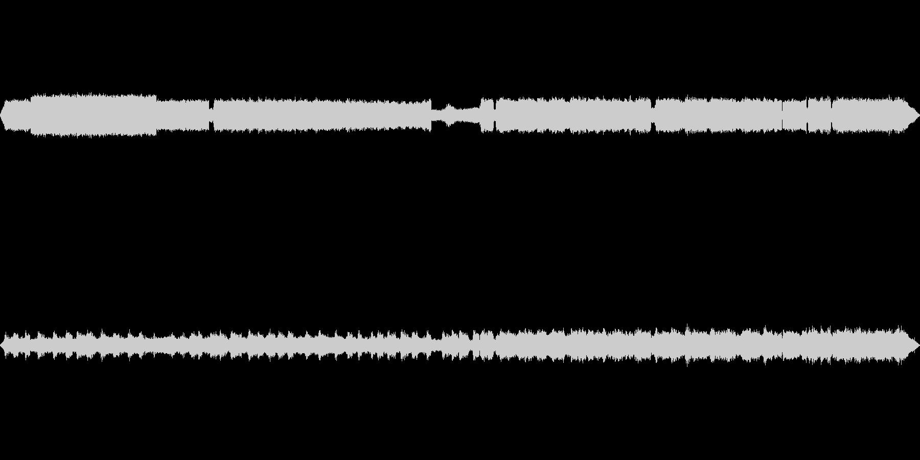 【自然音】秋の虫の鳴き声02の未再生の波形