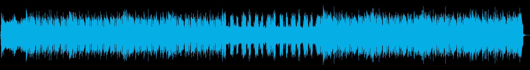 eSports サイバー ロックの再生済みの波形