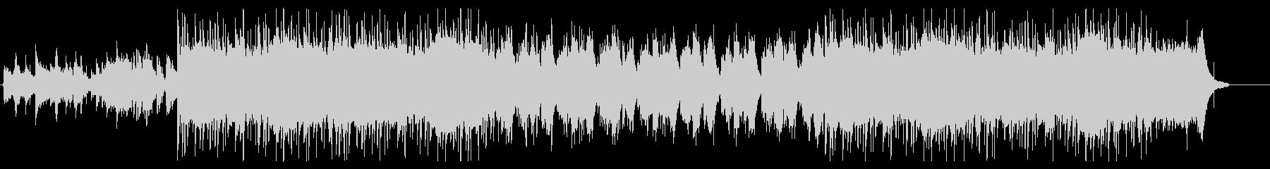 琴と尺八がメインの和風ヒップホップの未再生の波形
