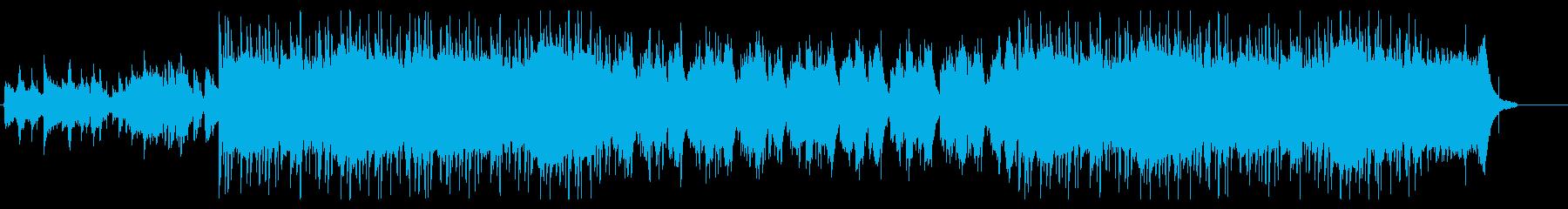 琴と尺八がメインの和風ヒップホップの再生済みの波形
