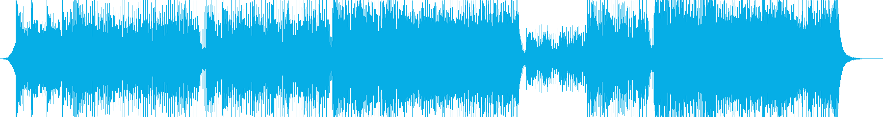 飛翔-爽やか-華やか-開幕-PV-動画の再生済みの波形