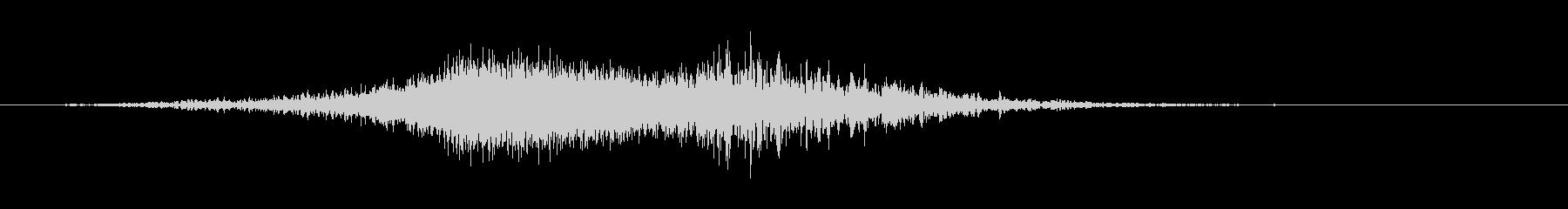 中空インパクトのスパイラルアプローチ1の未再生の波形