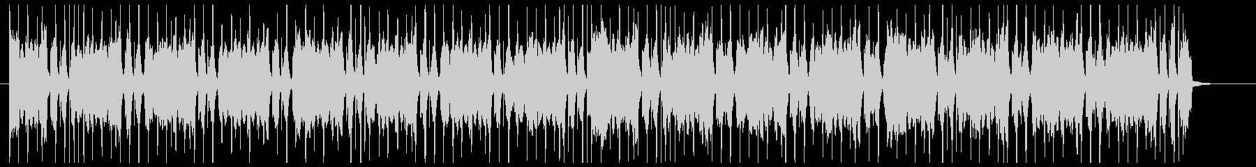 チェロが主体のスタイリッシュなCM音楽の未再生の波形