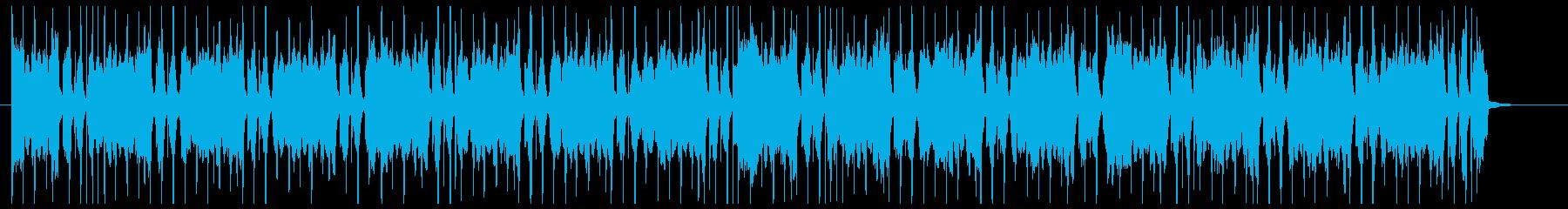 チェロが主体のスタイリッシュなCM音楽の再生済みの波形