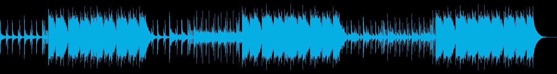 ダークトラップ 悲しいピアノ バイオリンの再生済みの波形