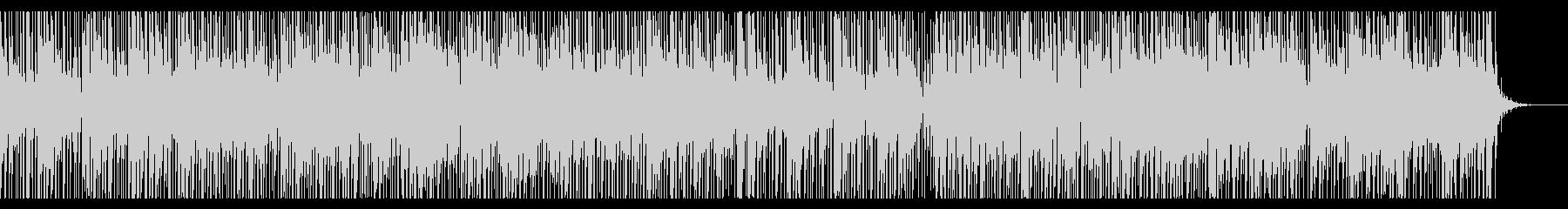 リズミカルで切ない雰囲気の曲の未再生の波形