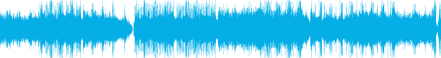 かっこいいオリエンタル曲(ループ)の再生済みの波形