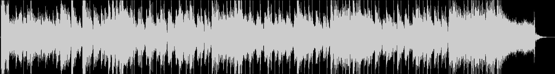 ロックで和風楽器な映像用のリズミカルな曲の未再生の波形