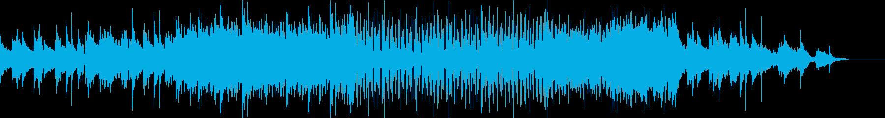 海の生物が住む世界を電子ピアノで表現の再生済みの波形