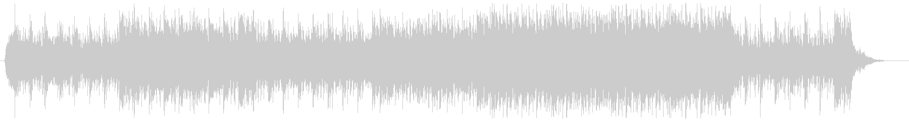 EDM系のミステリアスな楽曲の未再生の波形
