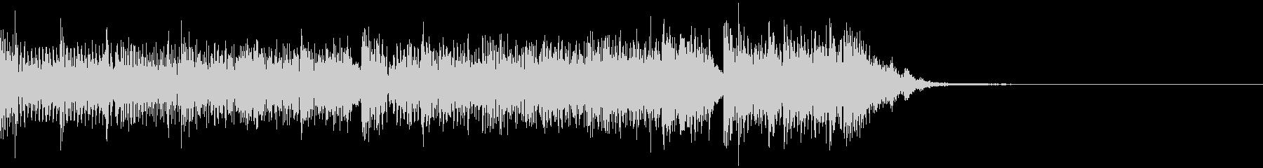 ハードなベースとドラム 映画予告 12秒の未再生の波形
