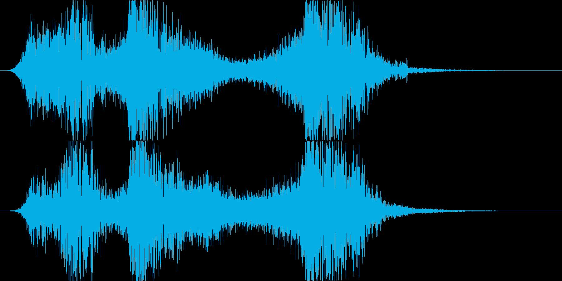 スペル 邪悪な闇04の再生済みの波形