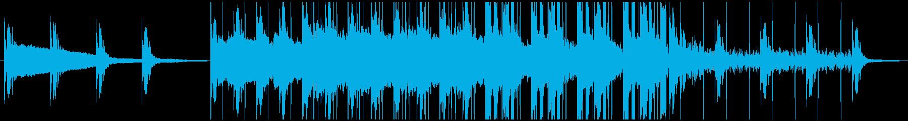 【バッドエンド】ホラーゲーム・サスペンスの再生済みの波形