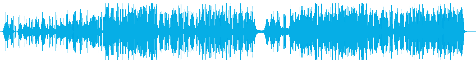 tropicalhouseの歌もの曲の再生済みの波形