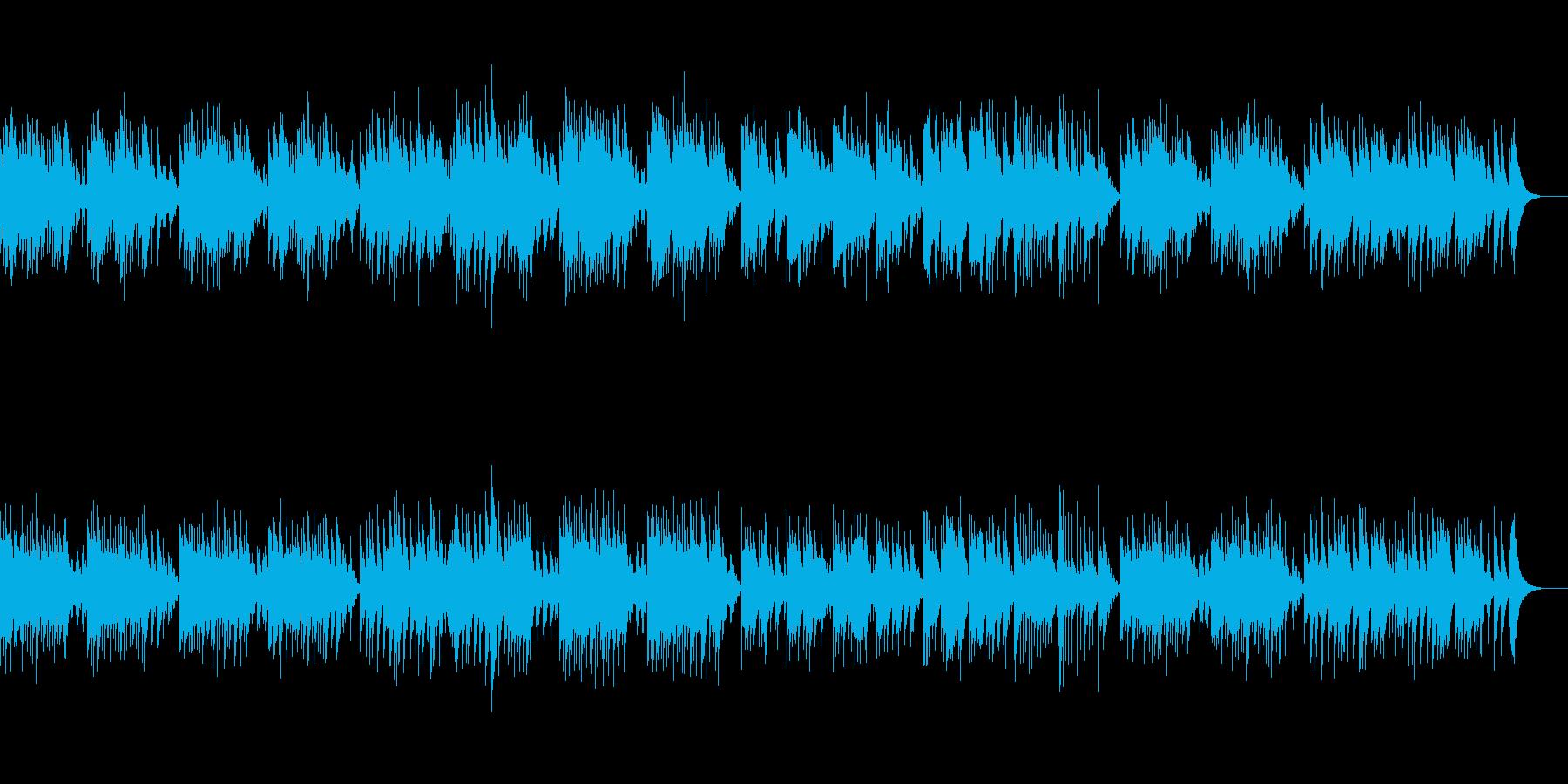 「ユーモレスク」オルゴール版の再生済みの波形