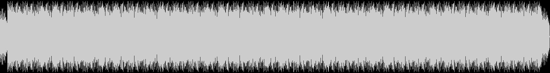 エレクトリックピアノのチルアウトの未再生の波形
