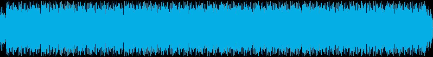 エレクトリックピアノのチルアウトの再生済みの波形