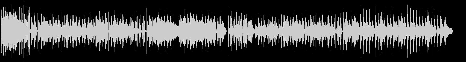 ラジオ体操風 ピアノ曲 ハイクオリティーの未再生の波形