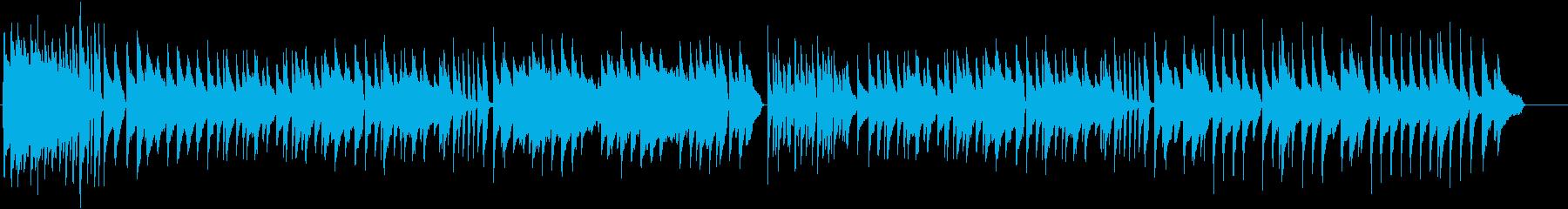 ラジオ体操風 ピアノ曲 ハイクオリティーの再生済みの波形