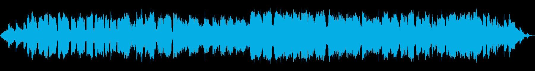 瞑想の竹笛の再生済みの波形