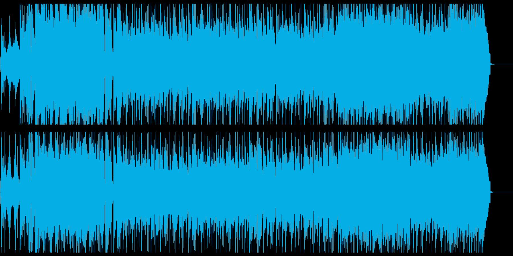 希望に満ちた爽やかなバンドサウンドの再生済みの波形