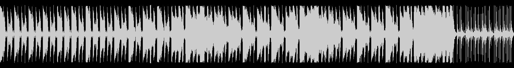 陽気なリズムとハンドクラップ ループ仕様の未再生の波形