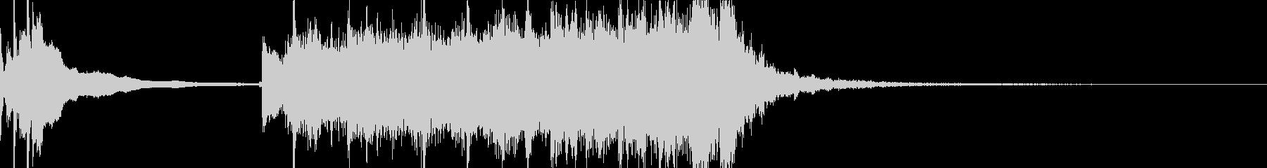 和風動画のタイトル画面に最適なMEの未再生の波形