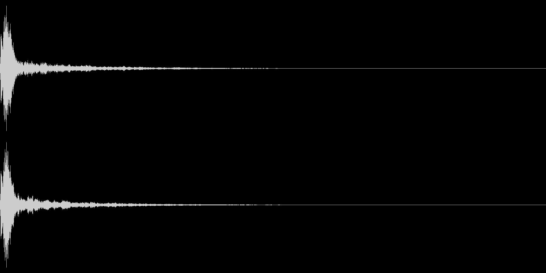 魔法 キラキラ 回復 ヒール系09の未再生の波形