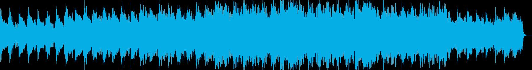 壮大なエピックピアノオーケストラの再生済みの波形