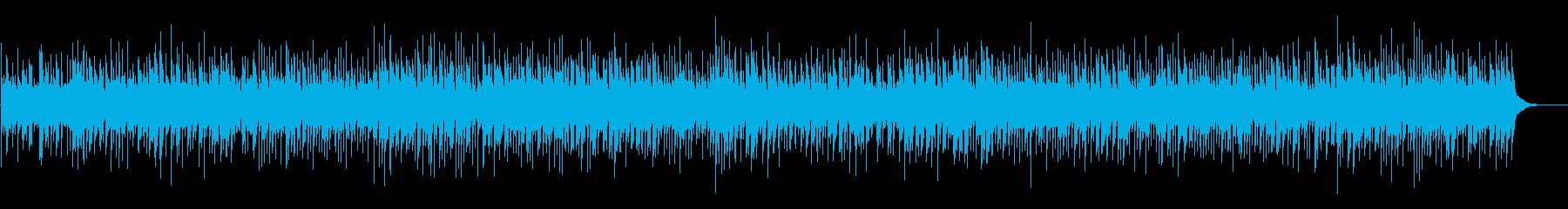 傷心のブルーグラスBGMの再生済みの波形