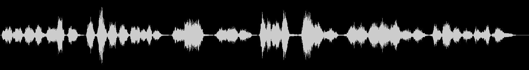 小学生:ABCの歌の未再生の波形