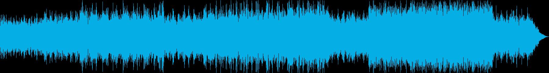 アンビエントEDM ミステリー/科学の再生済みの波形