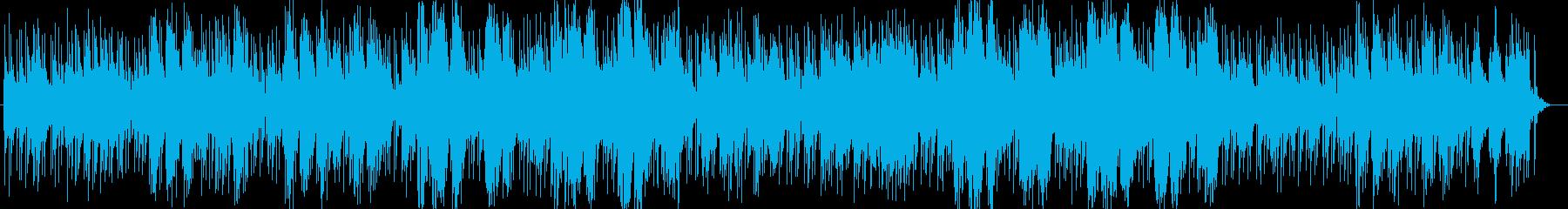 カントリー風ギターシンセサイザーサウンドの再生済みの波形