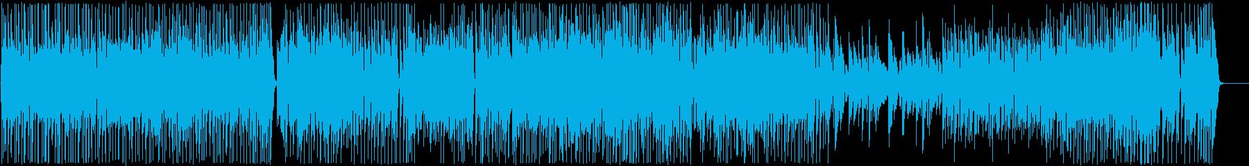 アコースティックギター、ベース、ド...の再生済みの波形