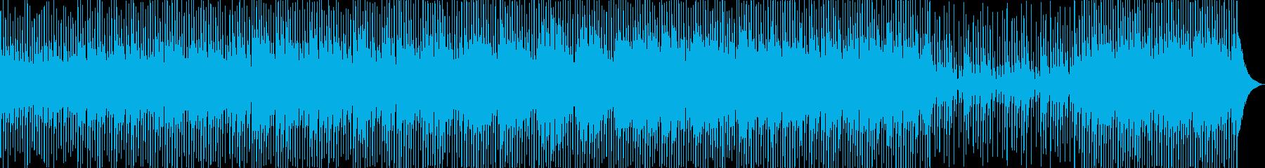 軽快でエキサイティングなポップスの再生済みの波形