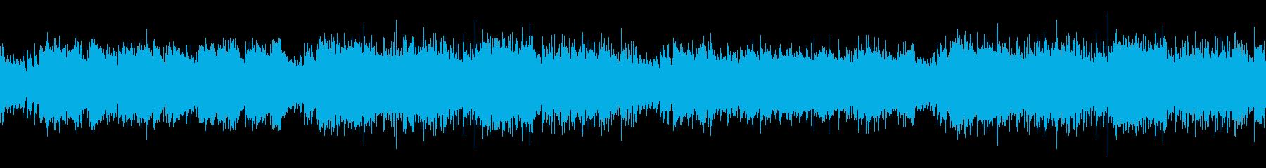 ループ・アニメ・かっこいいフラメンコの再生済みの波形
