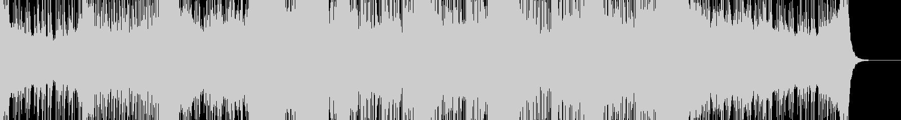 キラキラ輝いた感じのフューチャーベースの未再生の波形
