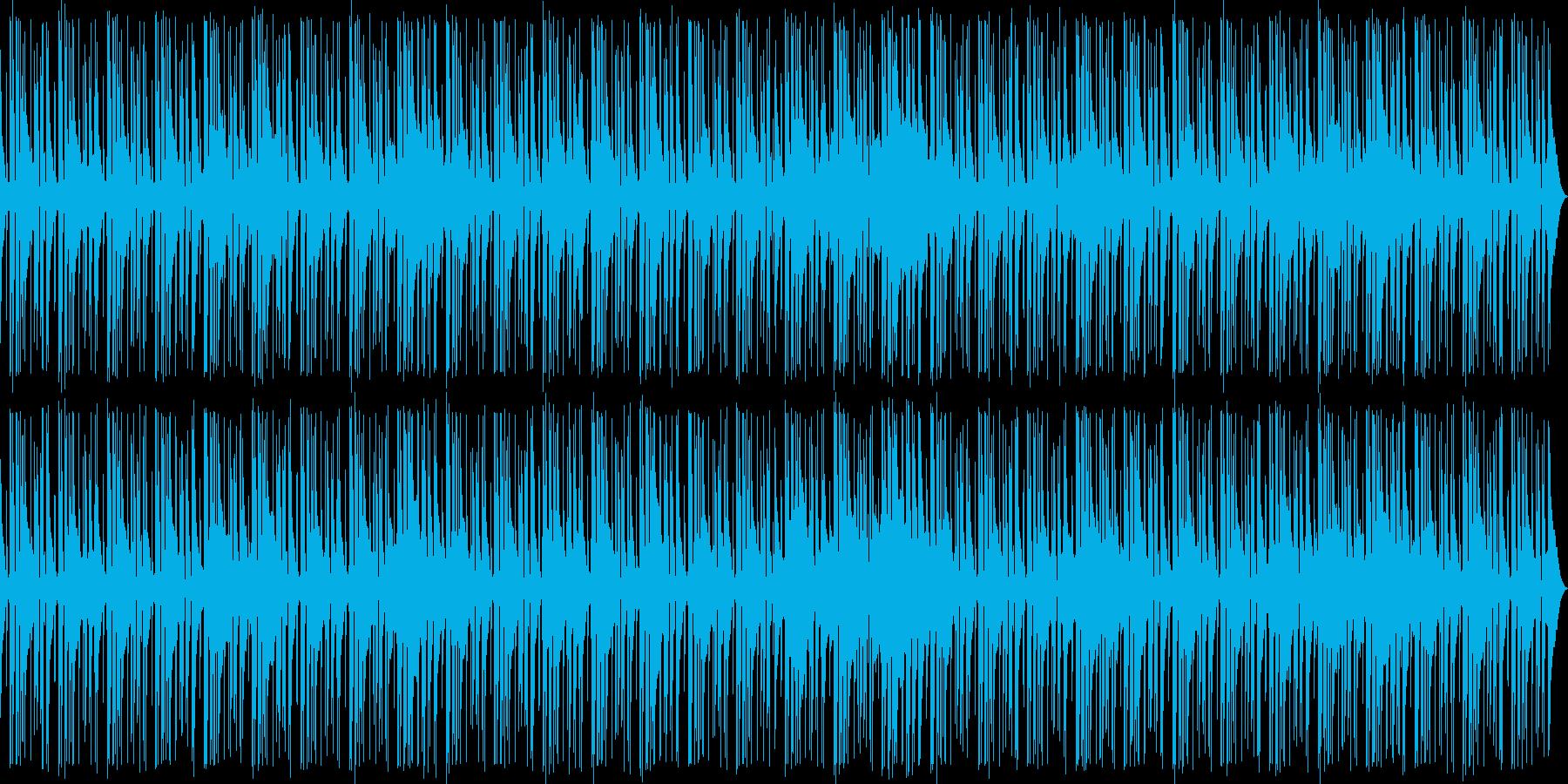 落ち着いた雰囲気のベース主体のジャズの再生済みの波形