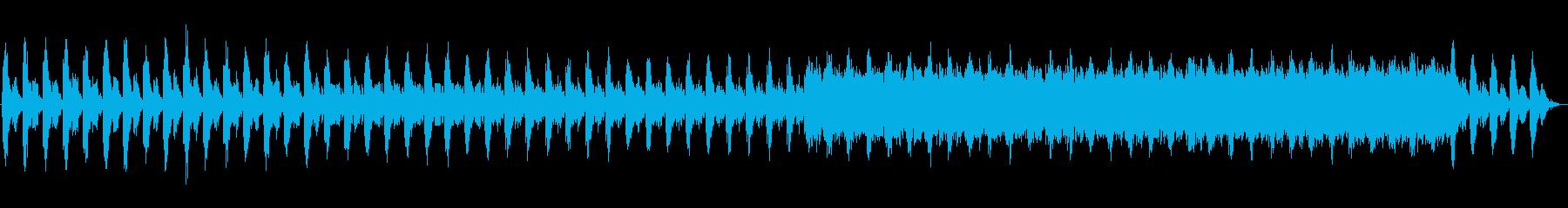 クリスタル水キラキラ美しい透明ヒーリングの再生済みの波形