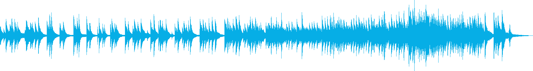 希望のピアノバラード(爽やか・優しい)の再生済みの波形
